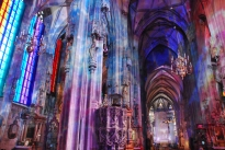 Inside the Stephansdom (St Stephen's Cathedral), Vienna