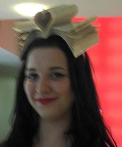 Book head dress