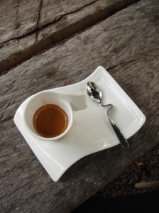 Kopi Luwak at Hervey's Range Tea House (Photo: Len Zell)
