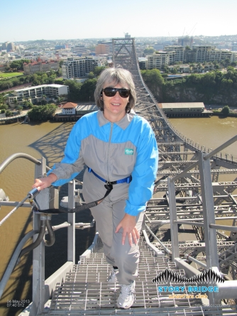 Story Bridge Adventure Climb, Brisbane, 2013
