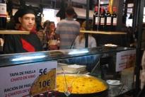 Tapa stand at Mercado de San Miguel
