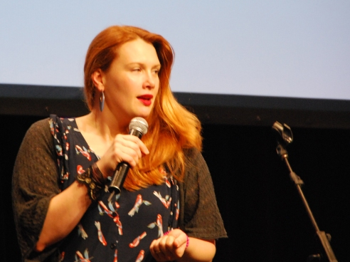 Clare Bowditch at the ProBlogger Training Event 2013.