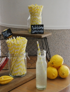 Home-style lemonade for thirsty bloggers.