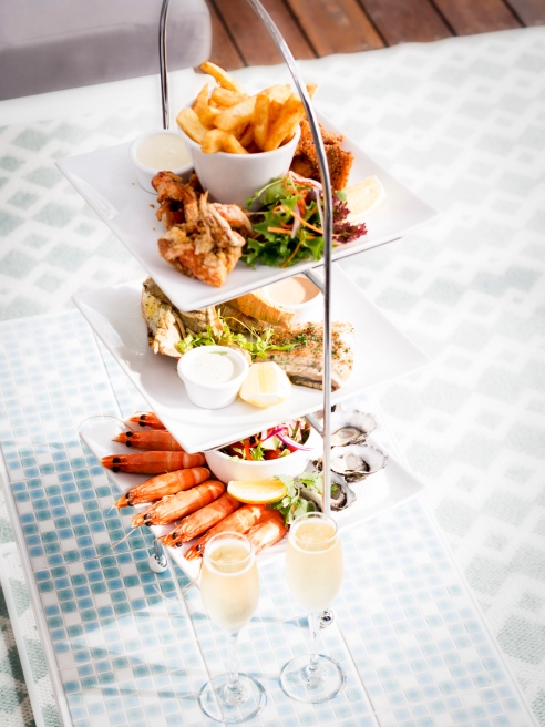 Something to share: a seafood tier for three. (Photo: Andrew Jarvie).