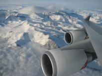 Mountains & Plane