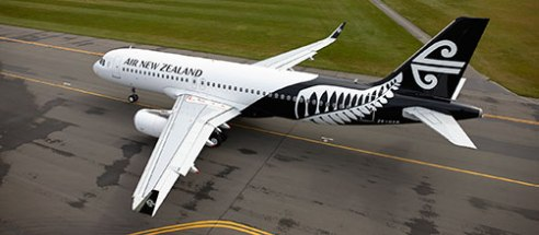 Air New Zealand's new livery.
