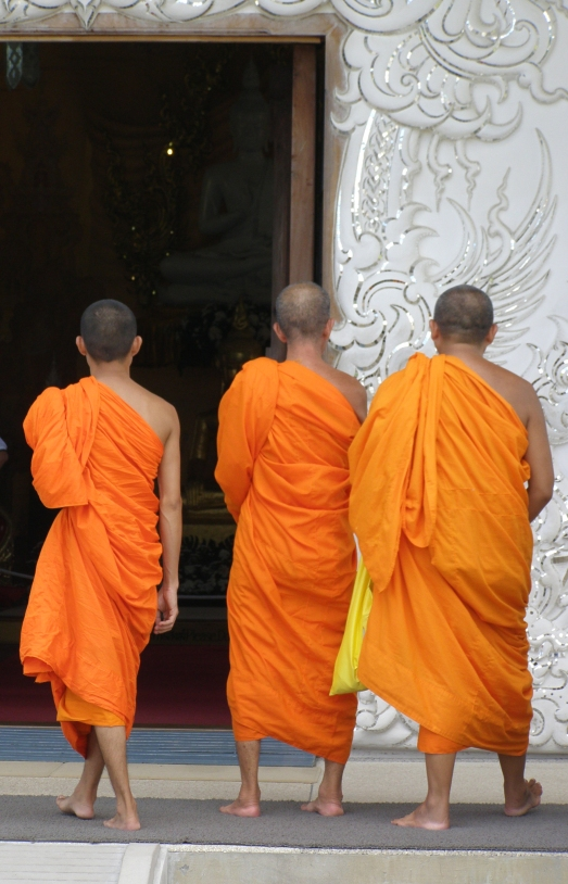 Monks in northern Thailand.