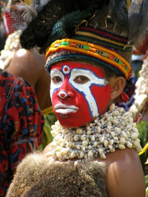 Mt Hagen cultural show, Papua New Guinea.