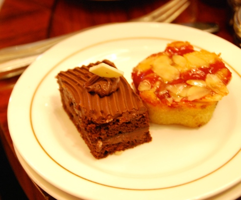 Sweet treats at High Tea.