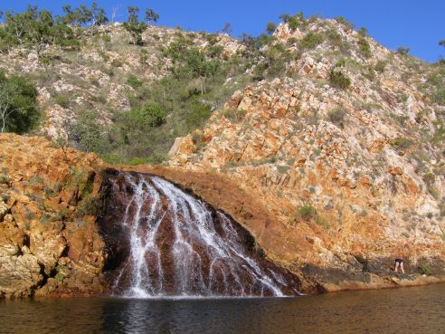 Waterfall, Crocodile Creek
