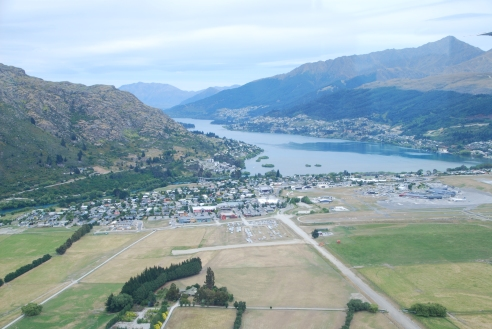 Approaching Queenstown.