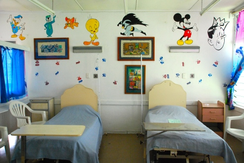 Part of the children's ward at the Sigtoka District Hospital