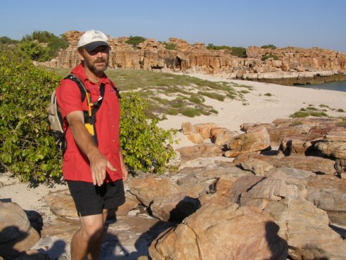 Expedition leader Mike Cusack