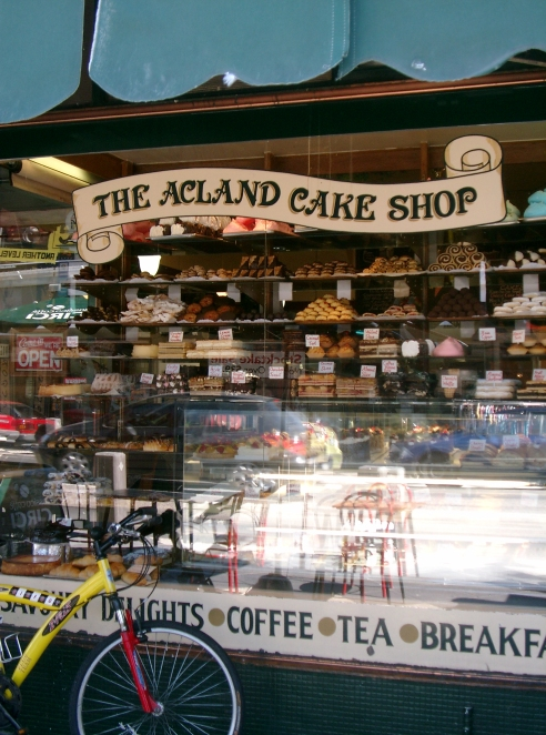 Acland Cake Shop, St Kilda. Photo - Lee Mylne.