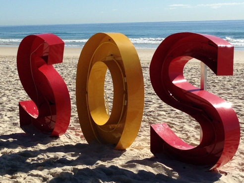 SOS (Save Our Surfers) by Michael Blazek (Queensland).