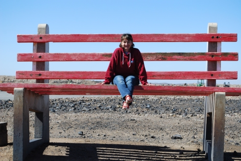 "In 2009, I sat on Broken Hill's ""Big Red Chair"" atop the Line of Lode. Now it's off-limits to visitors."
