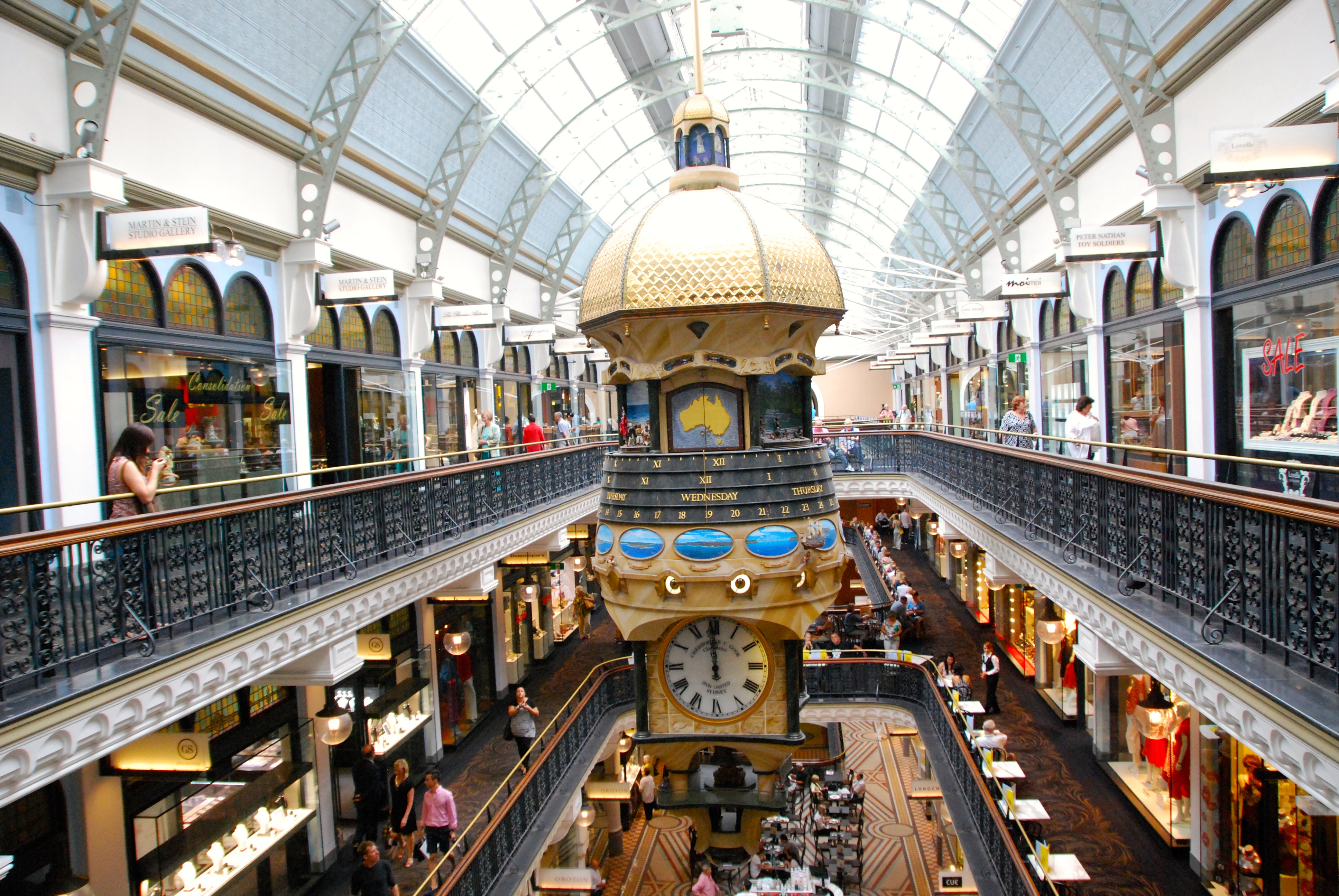 Sydney S Qvb Shopping Centre A Glass Half Full