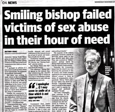 smiling bishop