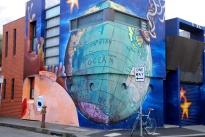 Street art, Fitzroy, Melbourne, Australia.