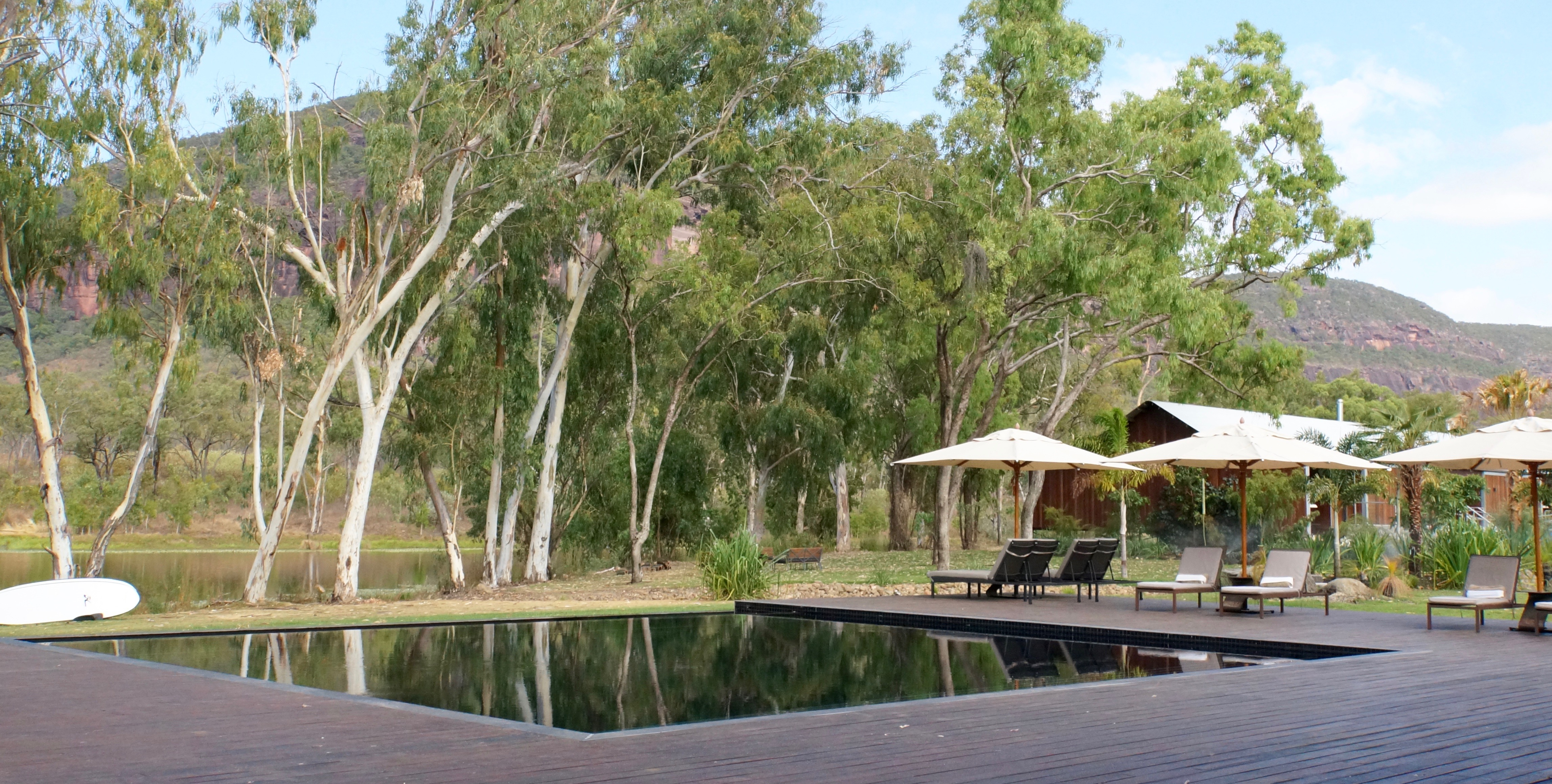 Mount Mulligan Lodge in outback Queensland, Australia.